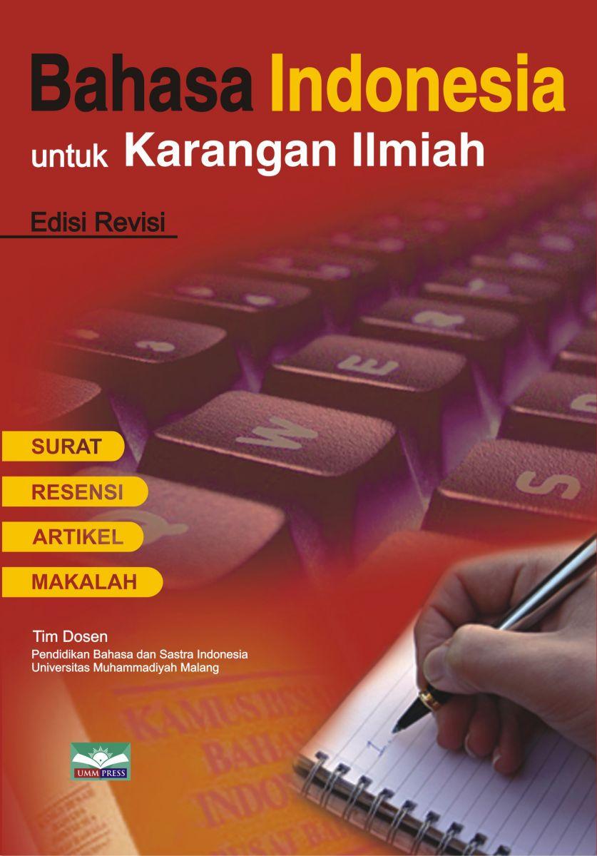 Bahasa Indonesia Untuk Karangan Ilmiah