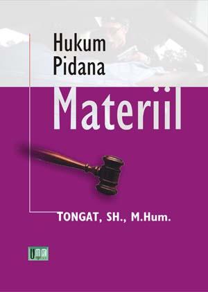 Hukum Pidana Materiil